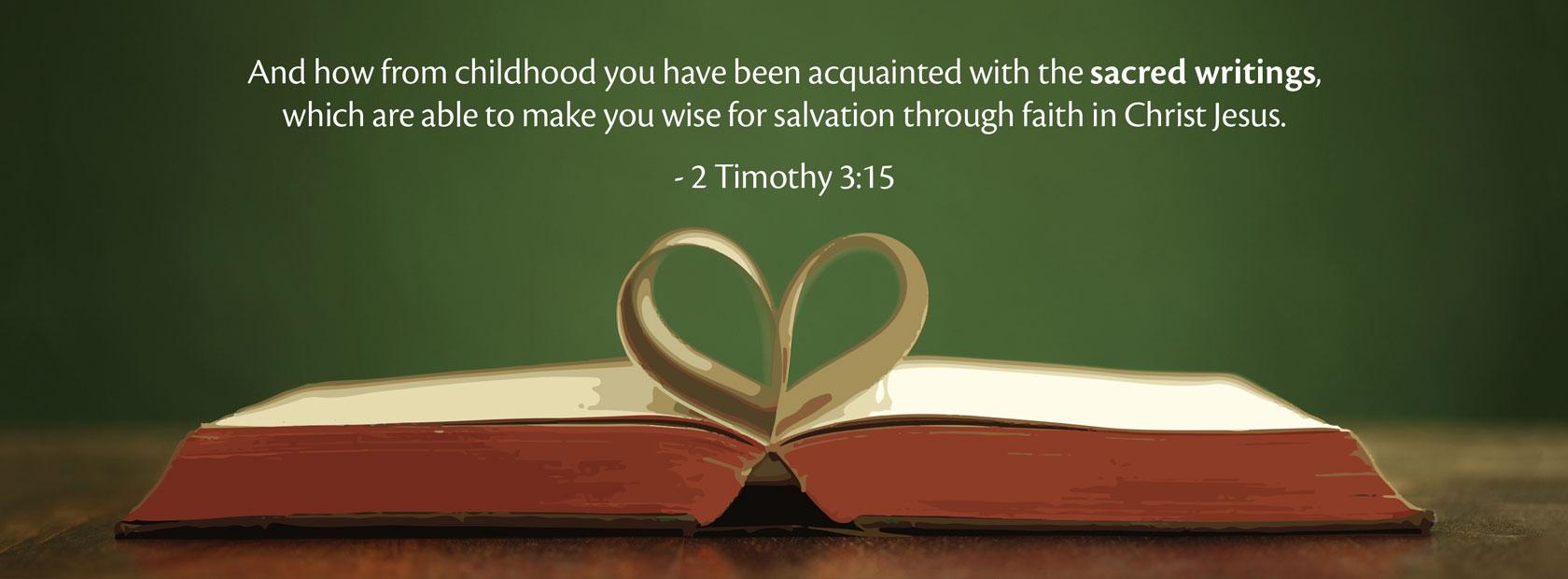 2 Timothy 3:15
